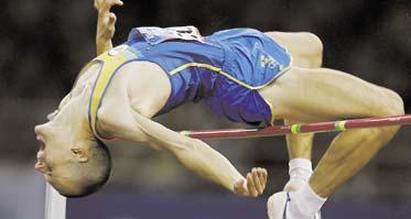 repris, tack Stefan Holm hoppas kunna hoppa högst i Aten igen.