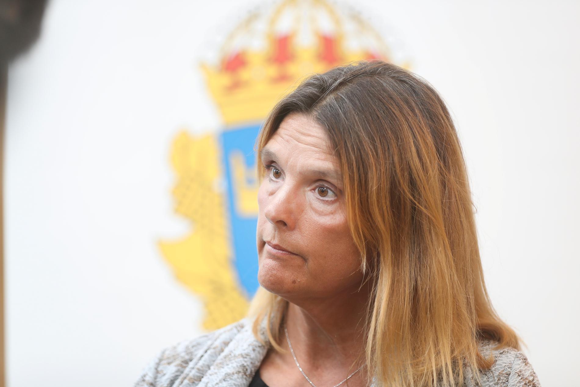 """""""Folkrättsbrott, eller krigsbrott som det också kallas, är ett av de allra grövsta brotten, både sett internationellt och i den svenska lagstiftningen"""", säger åklagare Kristina Lindhoff Carleson som nu åtalar mannen vid Stockholms tingsrätt. Arkivbild."""