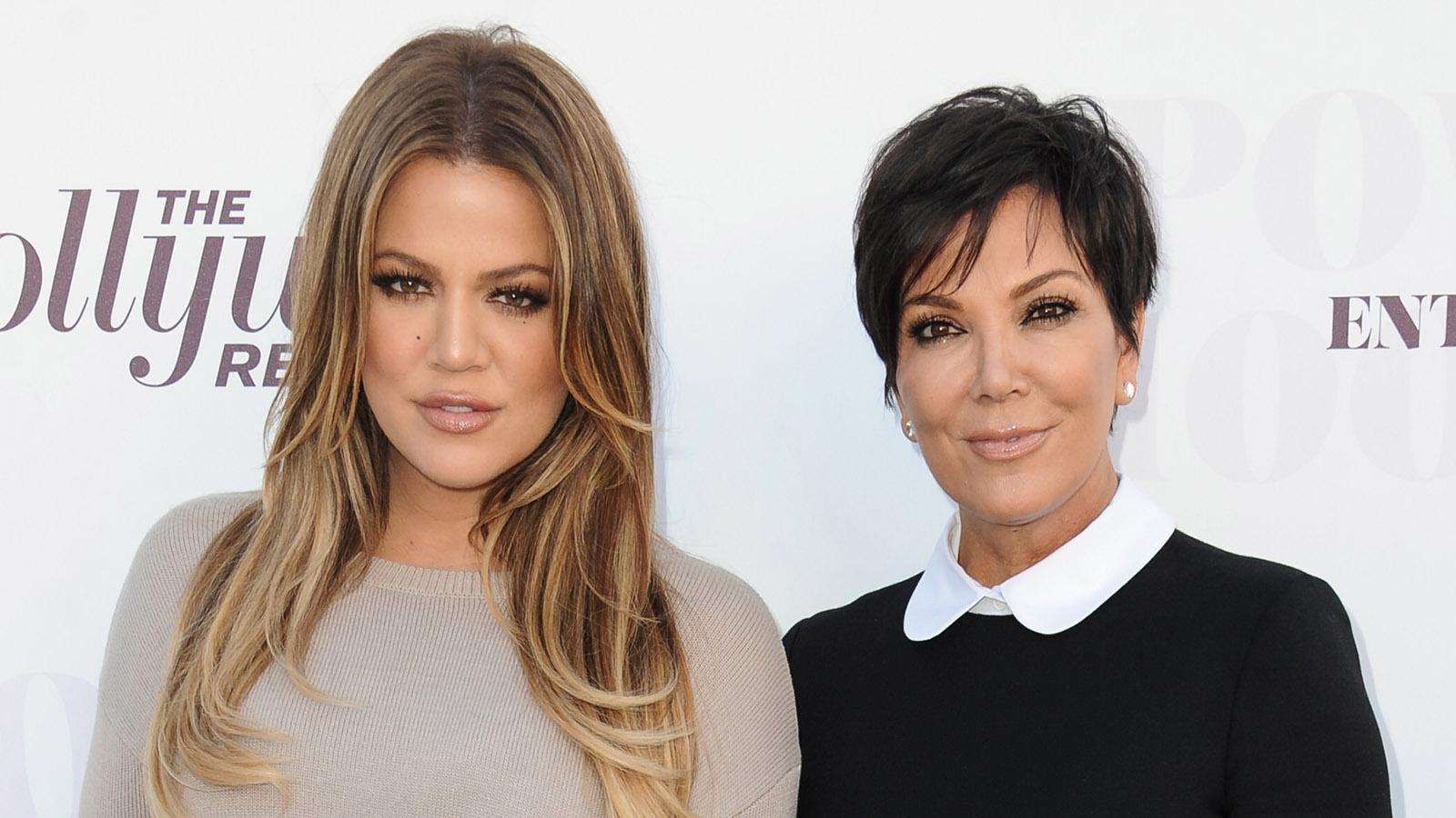 Khloé Kardashian (till vänster) och Kris Jenner.