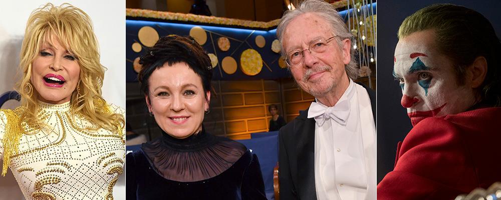 """Ja till Dolly Parton och Olga Tokarczuk, nej till Peter Handke och """"Joker"""" –om Aftonbladets kulturredaktion får välja."""