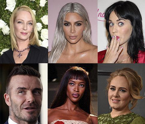 Uma Thurman, Kim Kardashian, Katy Perry, Adele, David Beckham och Naomi Campbell tror alla på kristallernas helande kraft.
