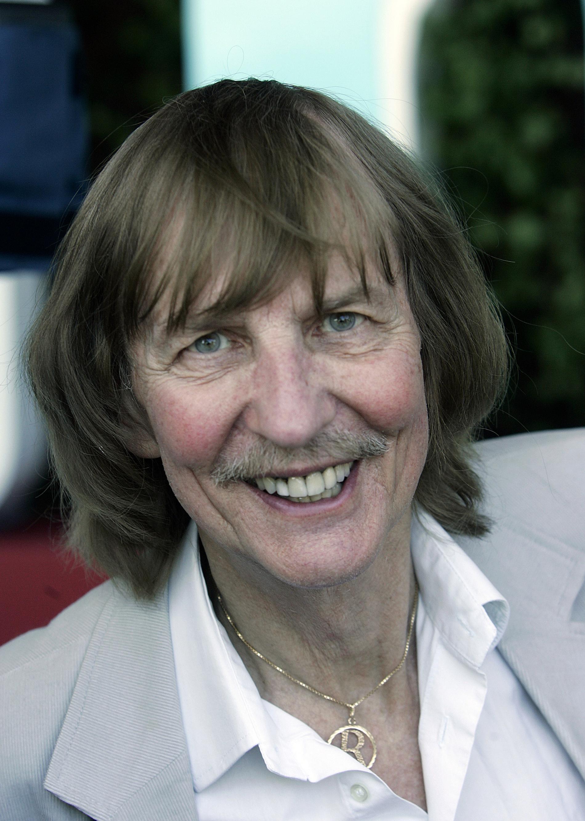 Roland Cedermark 2007. Han blev 82 år gammal.