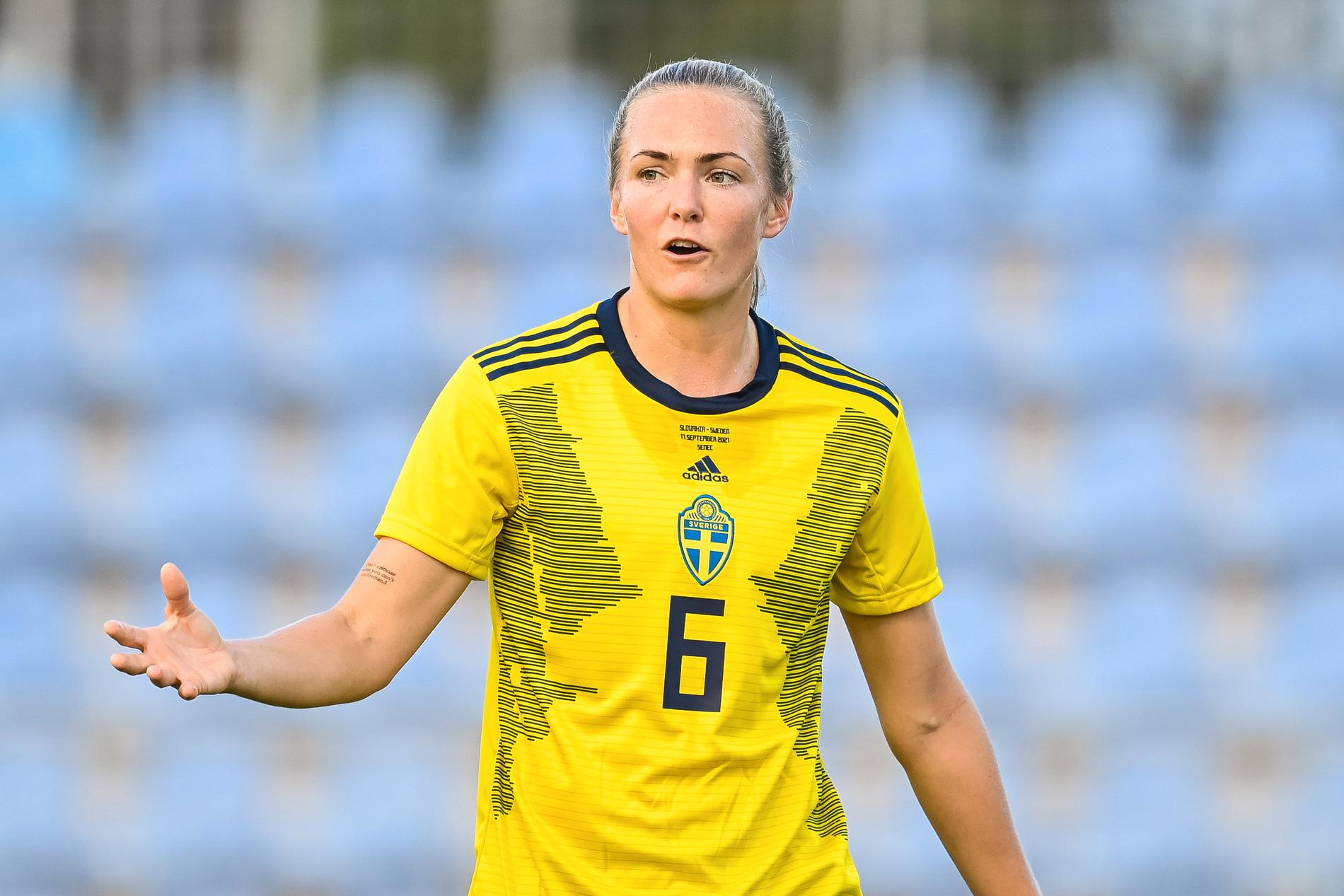 Magdalena Eriksson kan vinna Ballon d'Or.