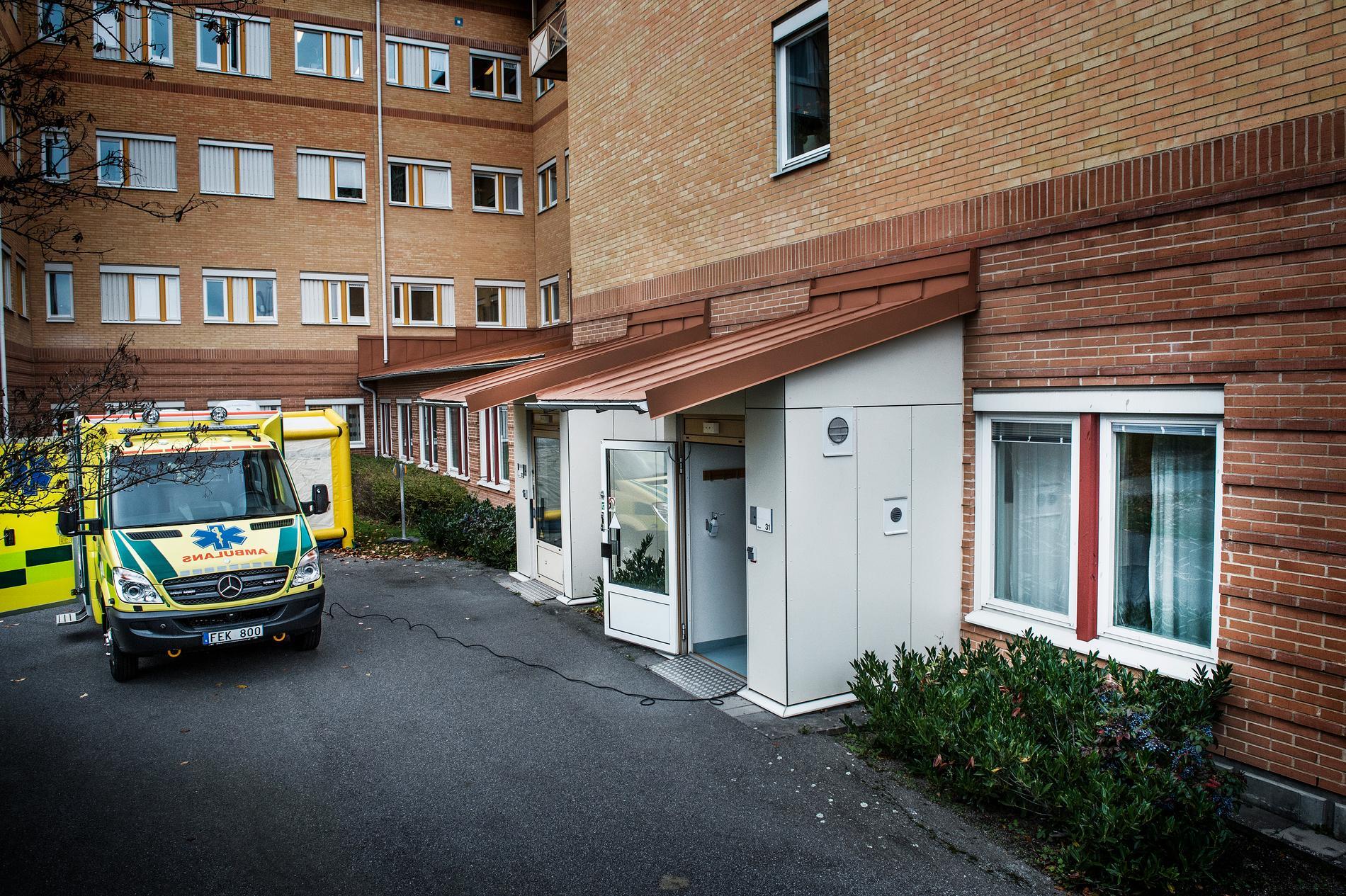 En person har huggits med någon form av vasst föremål i Linköping. Arkivbild.