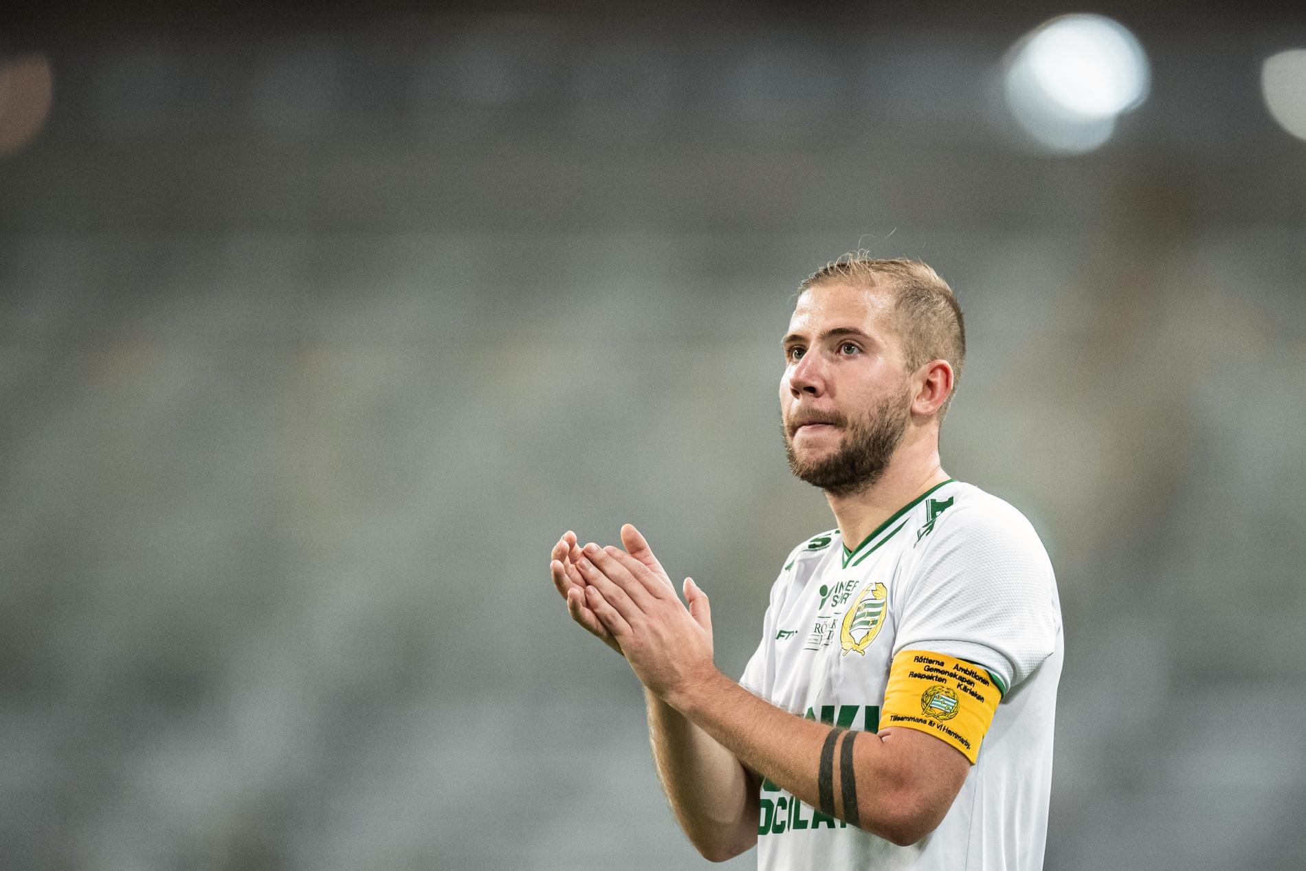 Darijan Bojanic är ny lagkapten för Hammarby.