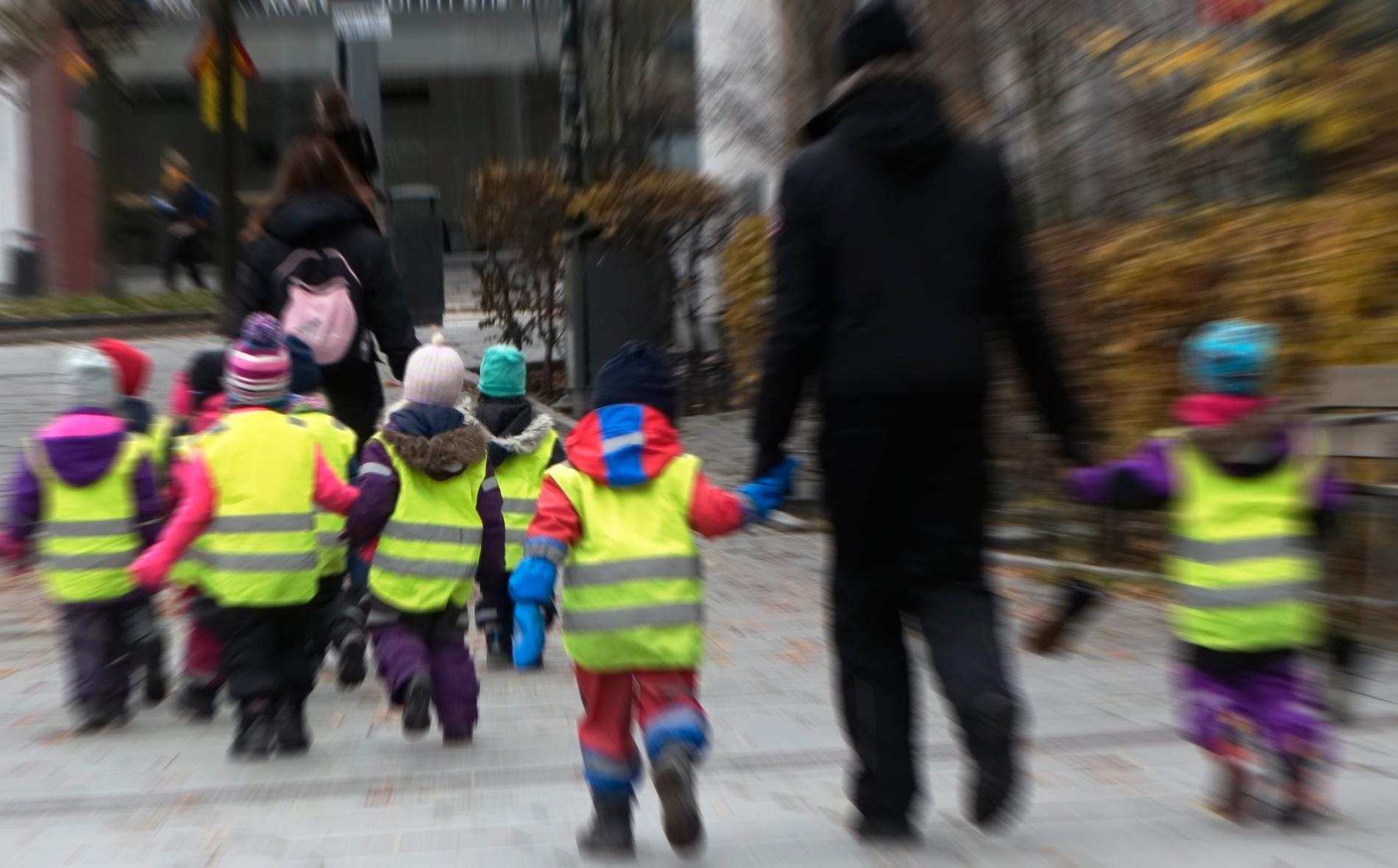 Stockholm stads skolborgarråd Isabel Smedberg-Palmqvist (L) vädjar till föräldrar att barn som går i förskolan ska stanna hemma under jul- och nyårsledigheten. Arkivbild.