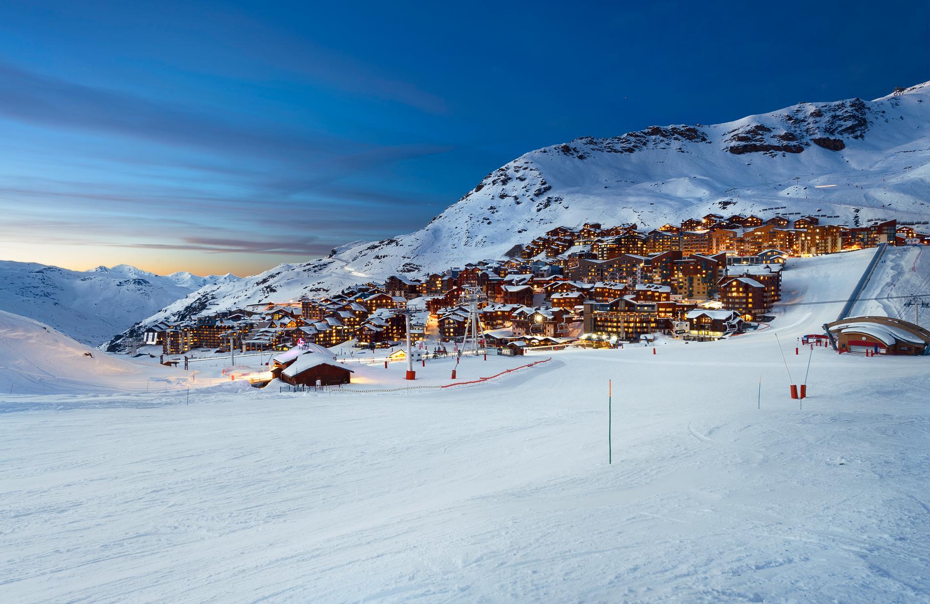 Världens bästa skidort, det är Val Thorens i år.
