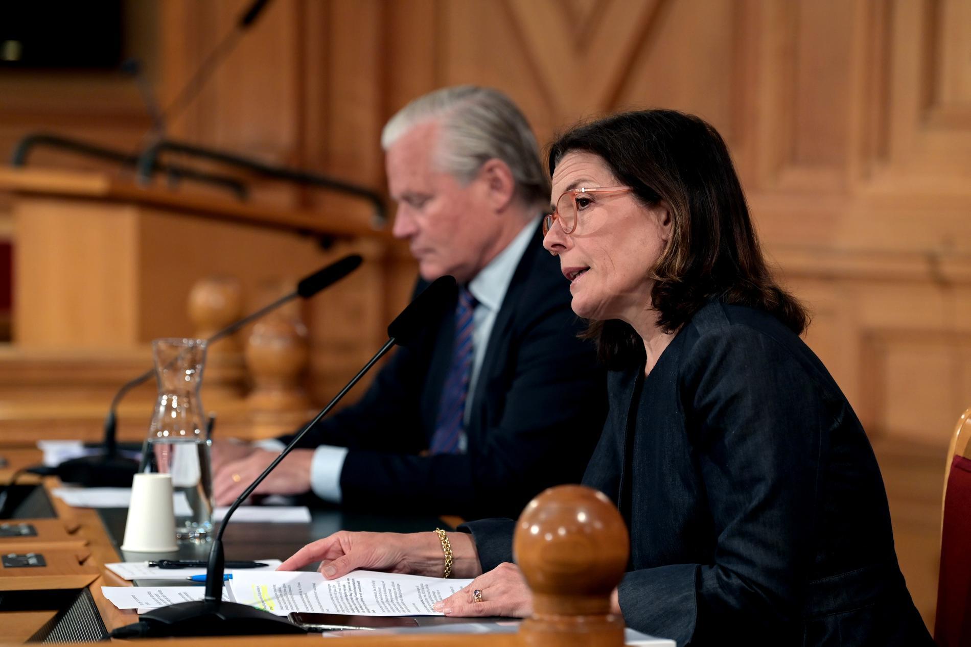 Karin Enström, ordförande Konstitutionsutskottet.