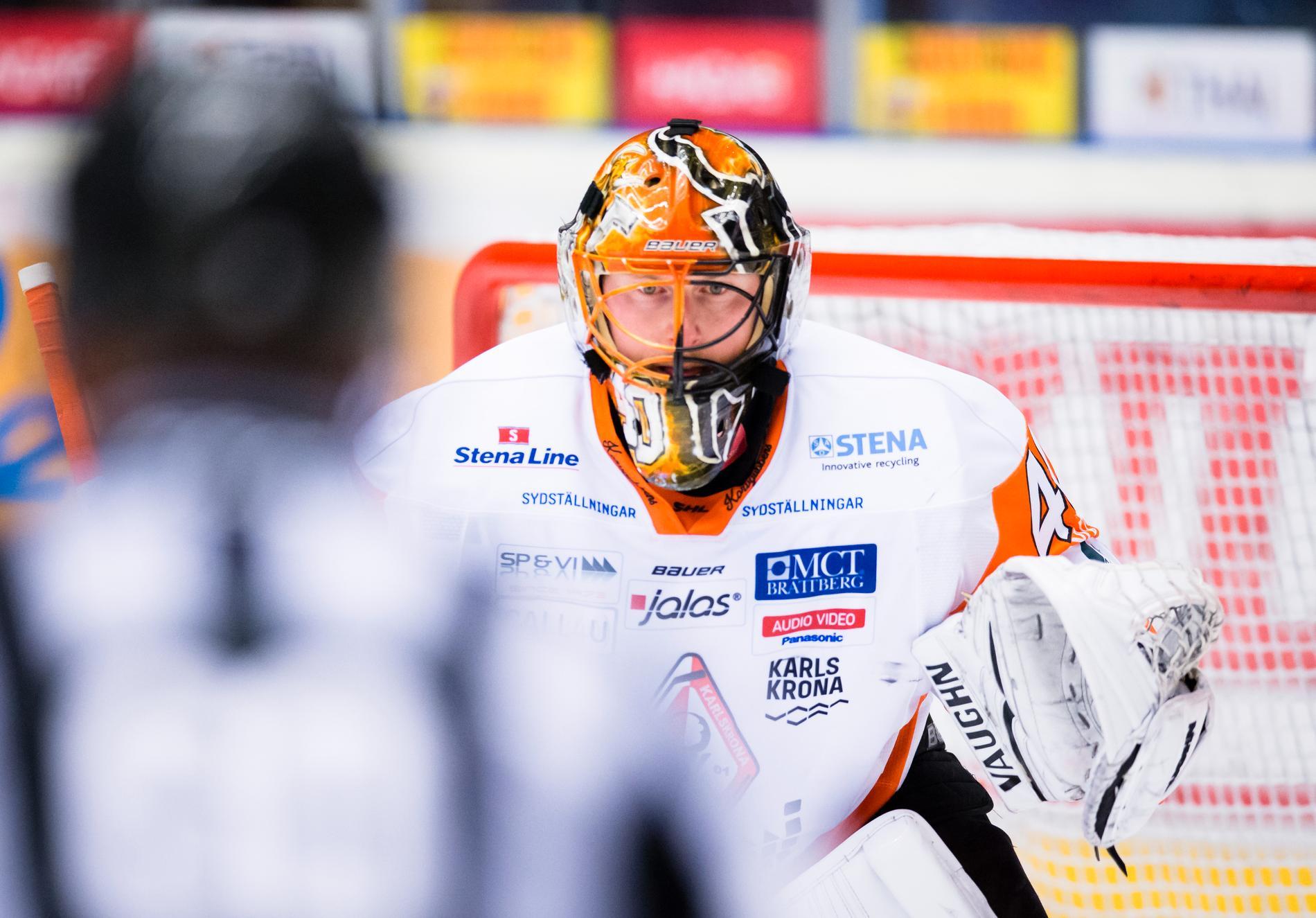 Johan Holmqvist räddade 29 av 30 skott.
