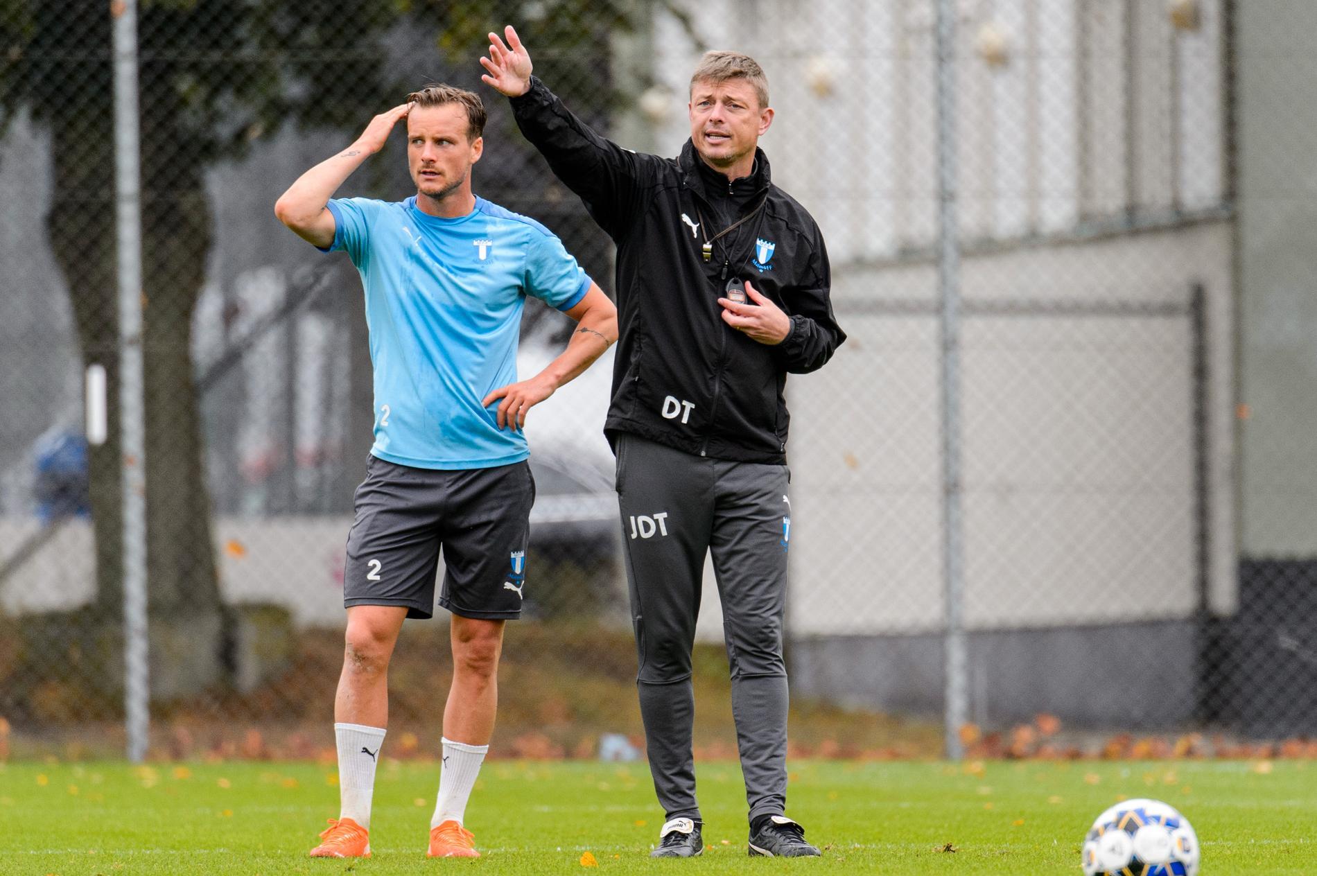 Eric Larsson och Jon Dahl Tomasson