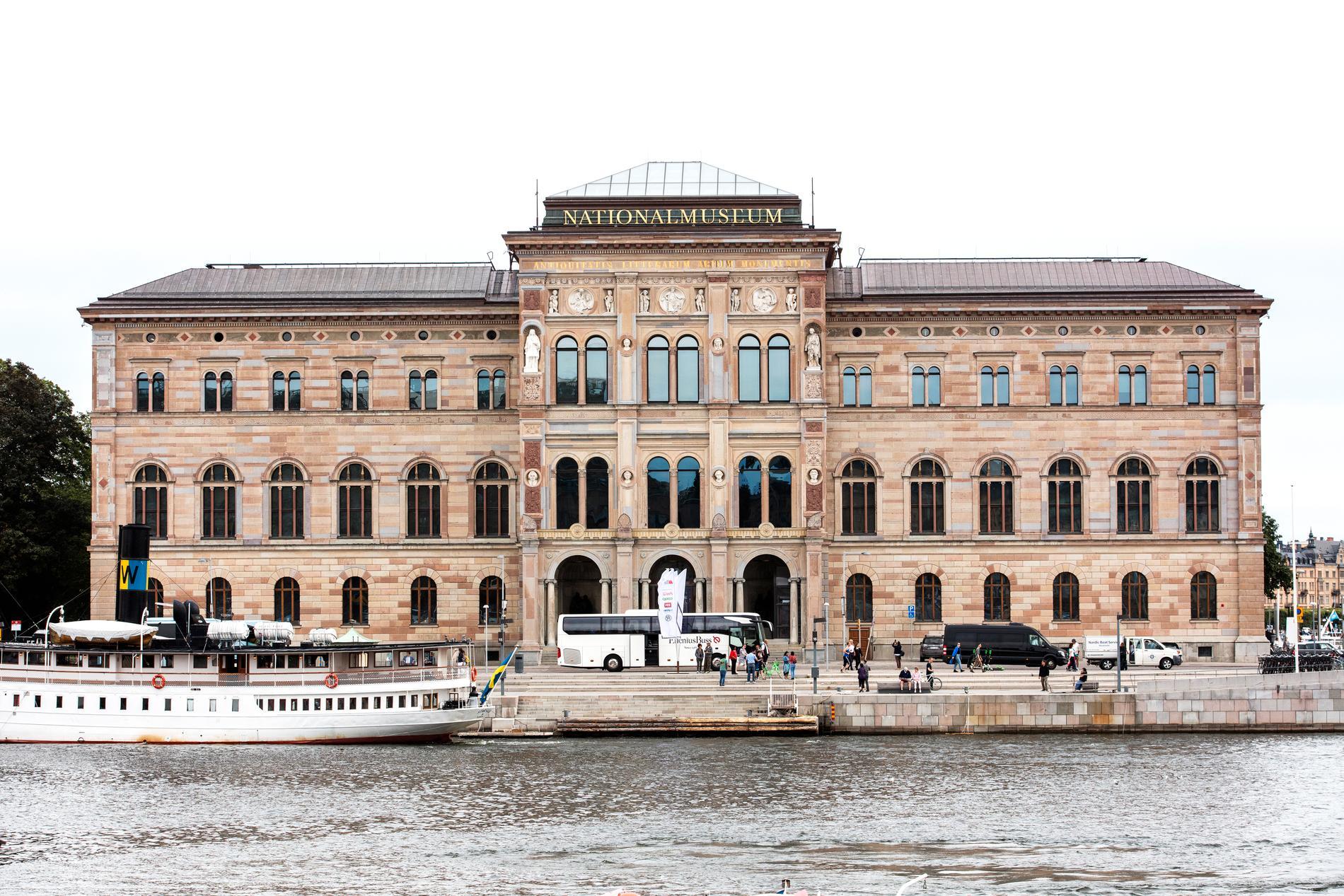 Nationalmuseum i Stockholm är en av de svenska museerna som har fri entré.