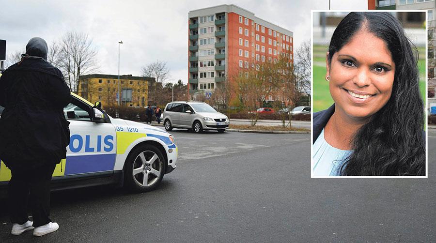 Rättsstaten behöver återta kontrollen över samhället och gängkriminaliteten, skriver Emma Feldman och Moderaterna i Järfälla.