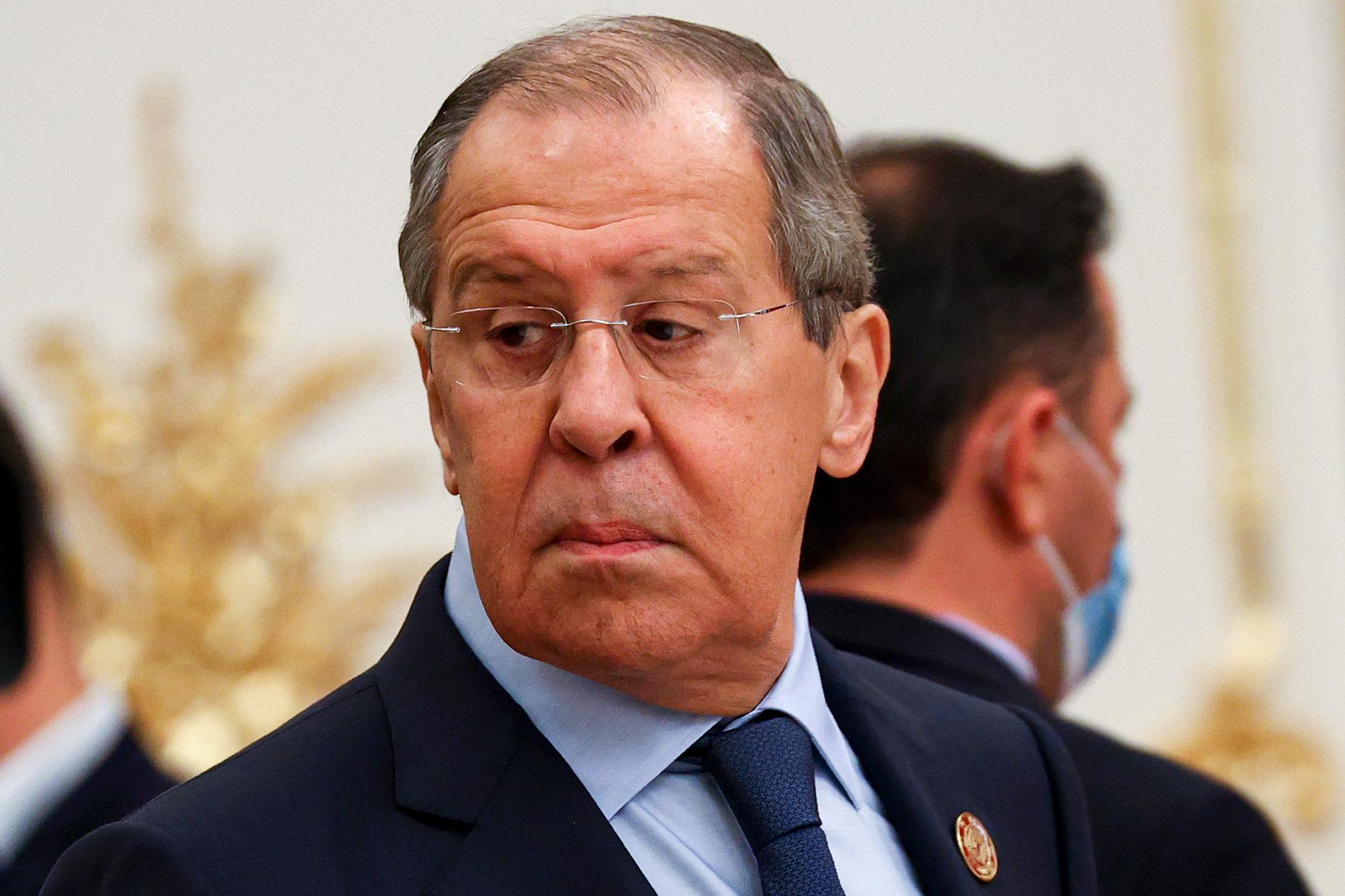 Rysslands utrikesminister Sergej Lavrov. Arkivbild