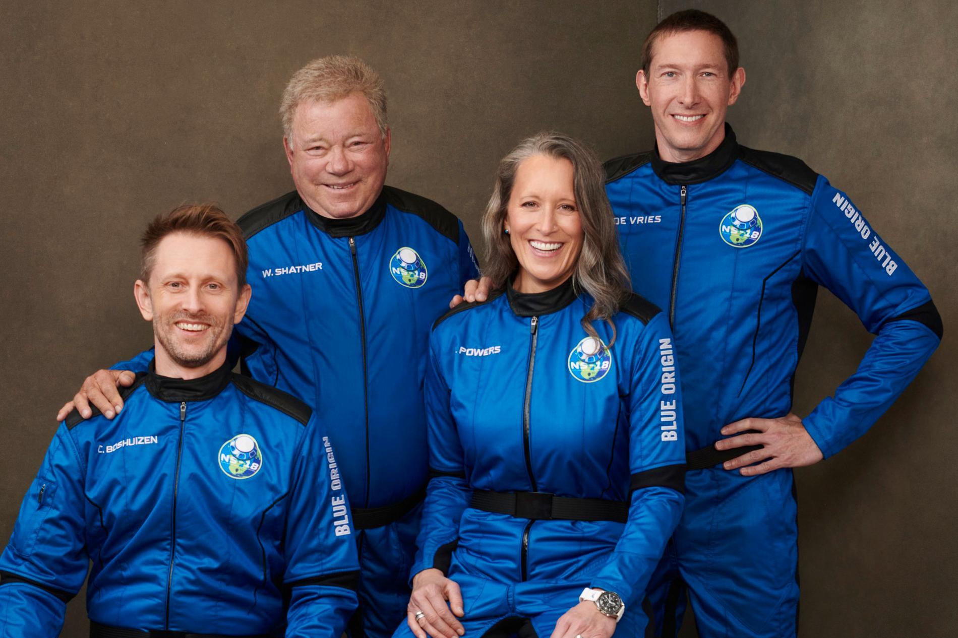 William Shatner, Chris Boshuizen, Audrey Powers och Glen de Vries