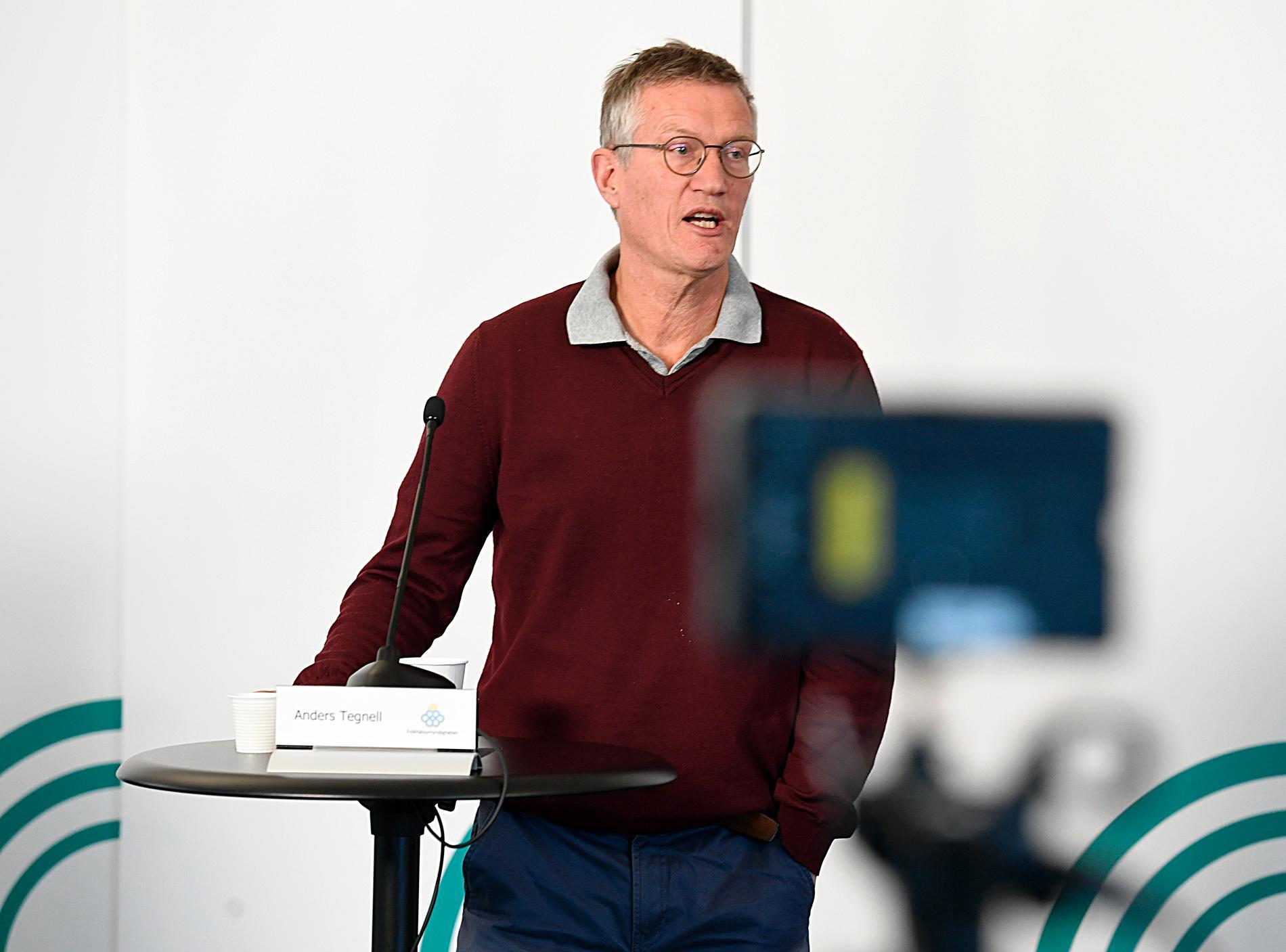 Statsepidemiolog Anders Tegnell.