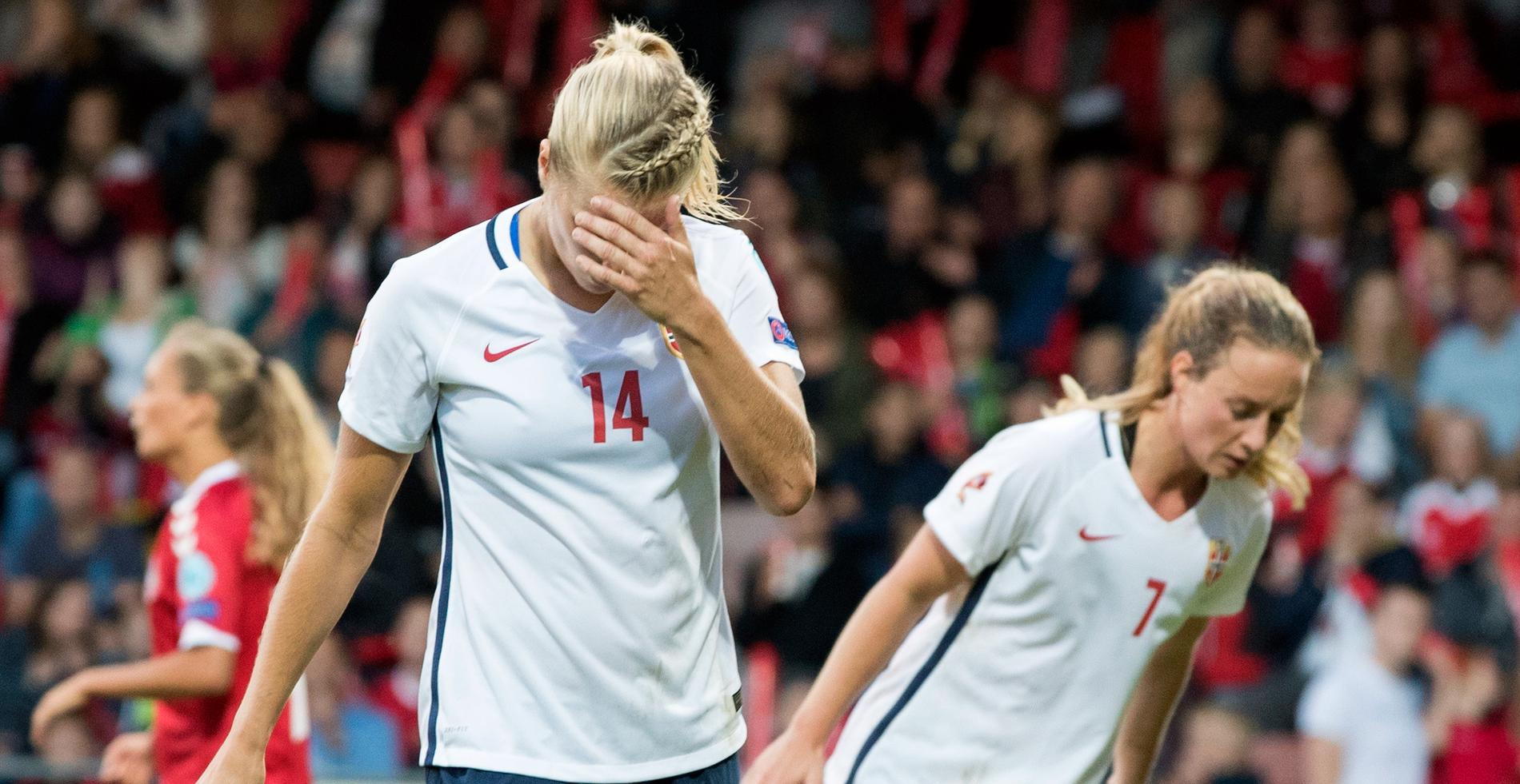 Hegerberg representerar Norge under EM 2017