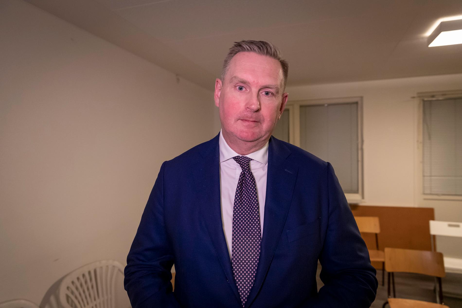 Advokat Carl Sjöstedt.
