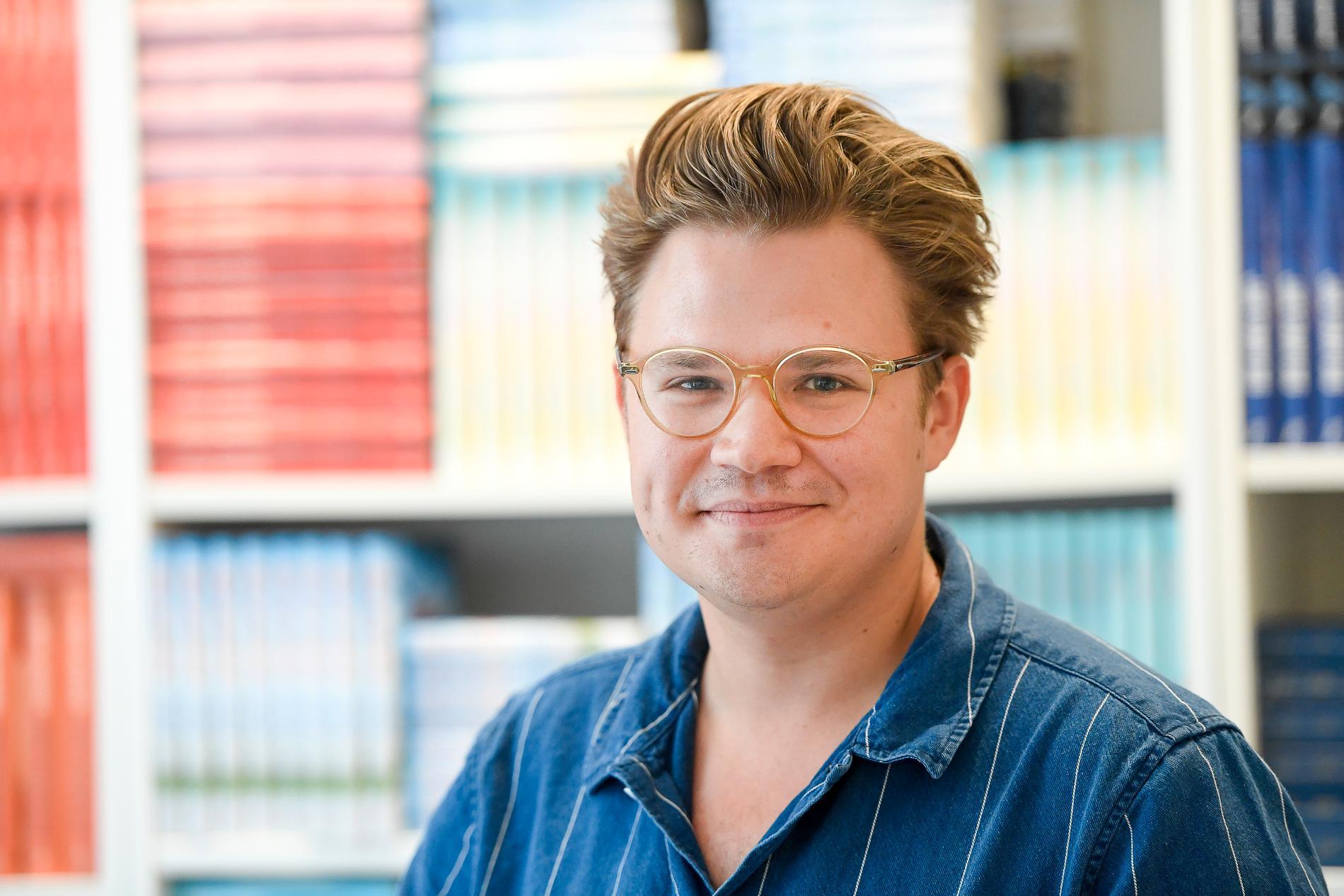 Christoffer Holst, festivalgeneral för Feelgoodfestivalen, som liksom förra året blir ett digitalt evenemang. Arkivbild.