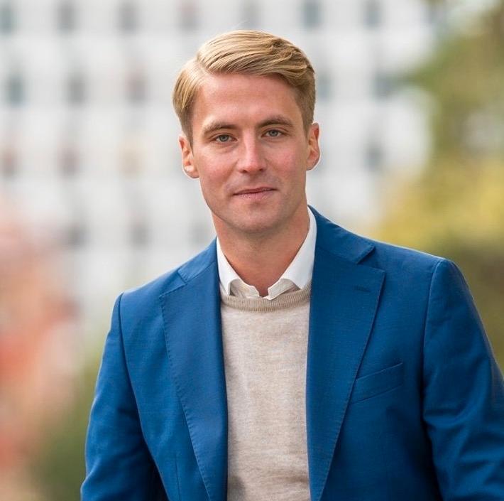 Axel Conradi (M), oppositionsråd i Sundbyberg.