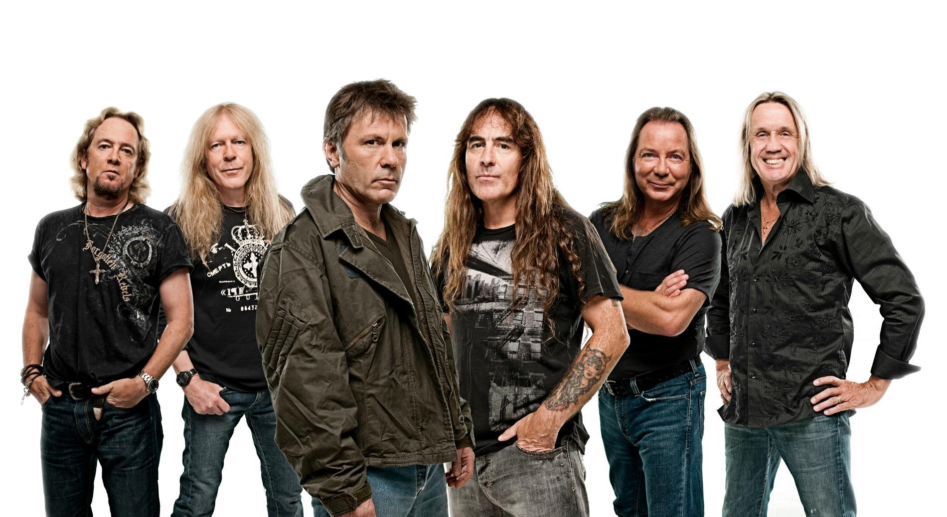 Efter mängder med ledtrådar och teasers är Iron Maidens första nya musik på sex år här.
