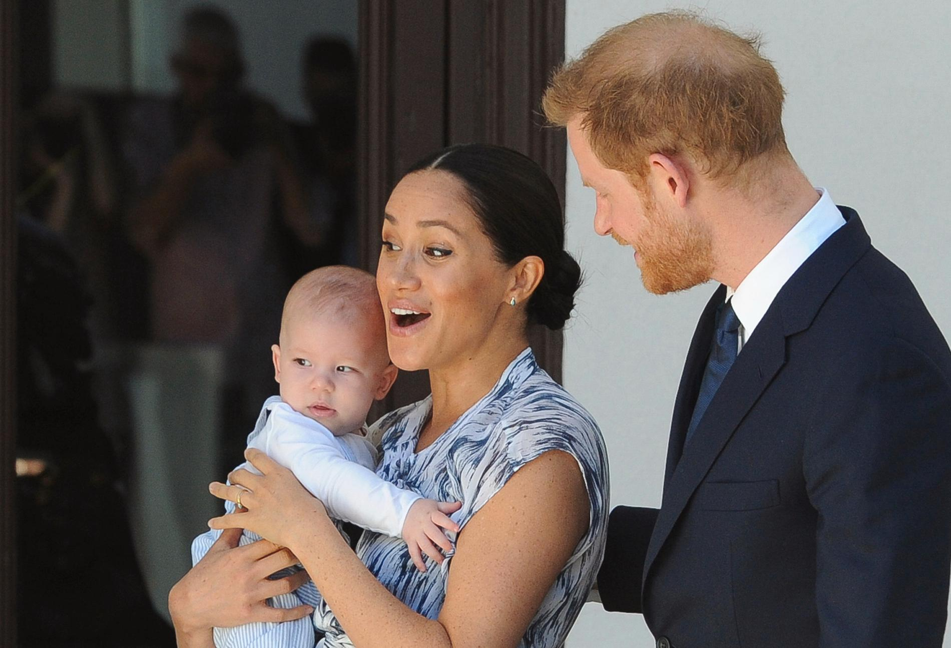Prins Harry och Meghan Markle blev föräldrar 2019 och väntar nu sitt andra barn.