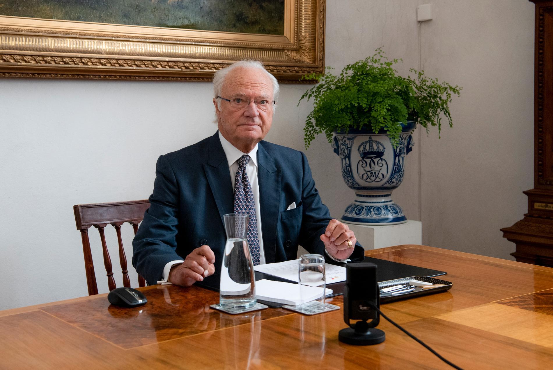 Kung Carl XVI Gustaf. (Arkivbild)