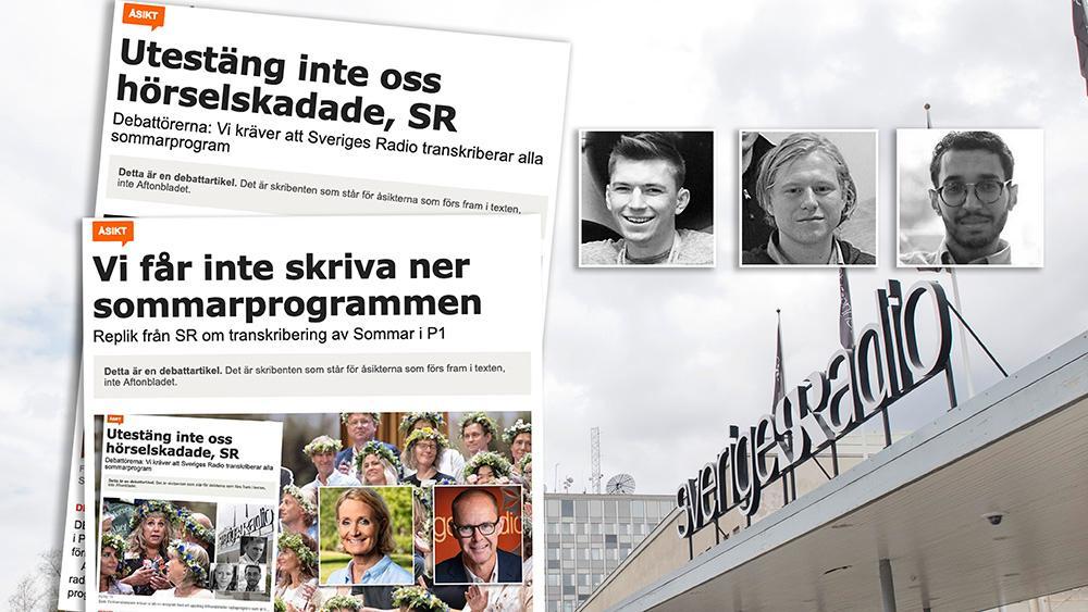 Vi menar att det är ovärdigt Sveriges Radio att inte ta till sig av kritiken och visa vilja att öka tillgängligheten. Radio i allmänhetens tjänst har ett stort ansvar för att i dessa frågor vara ett föredöme, skriver Unga Hörselskadade.
