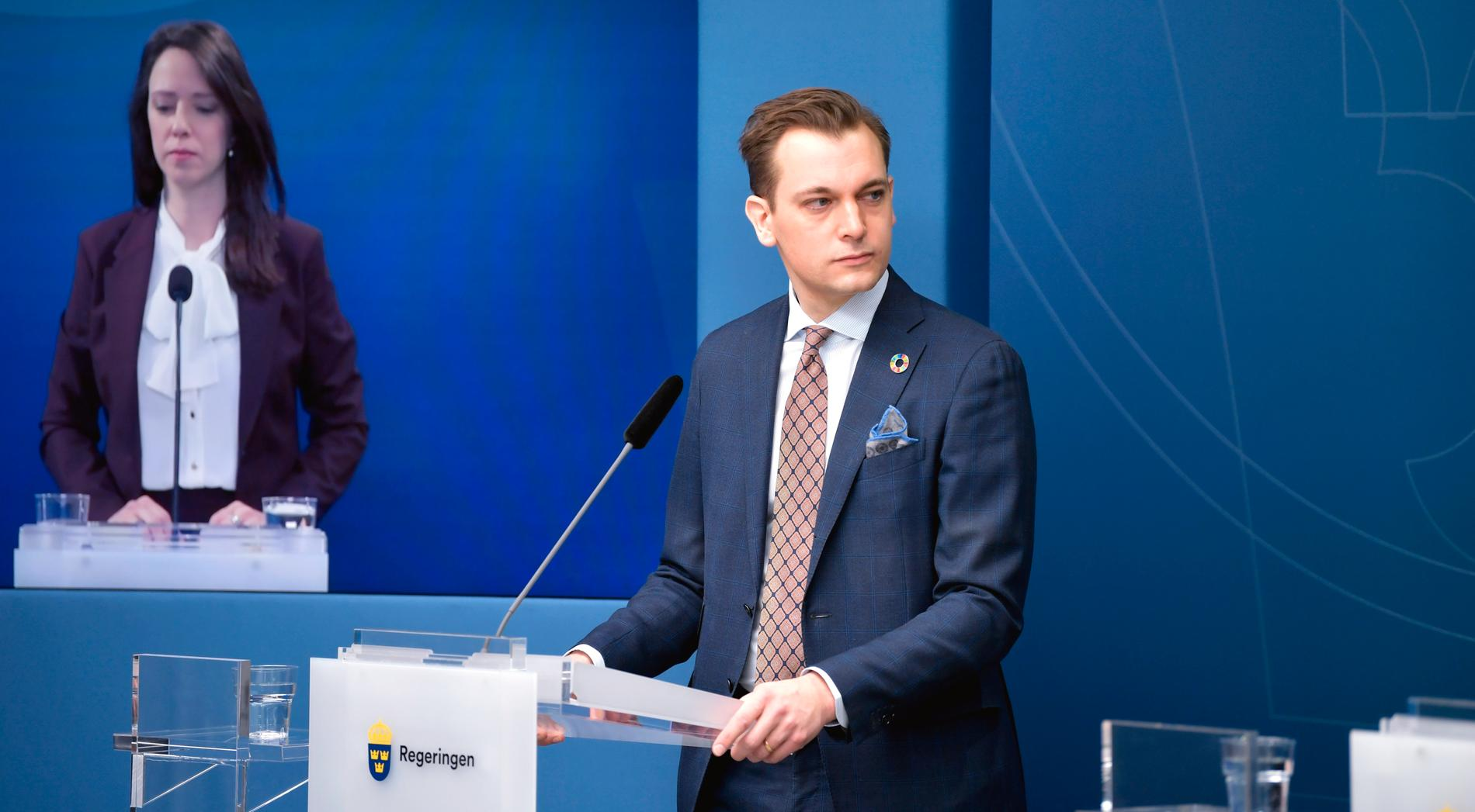 Per Olsson Fridh (MP) blir ny biståndsminister.