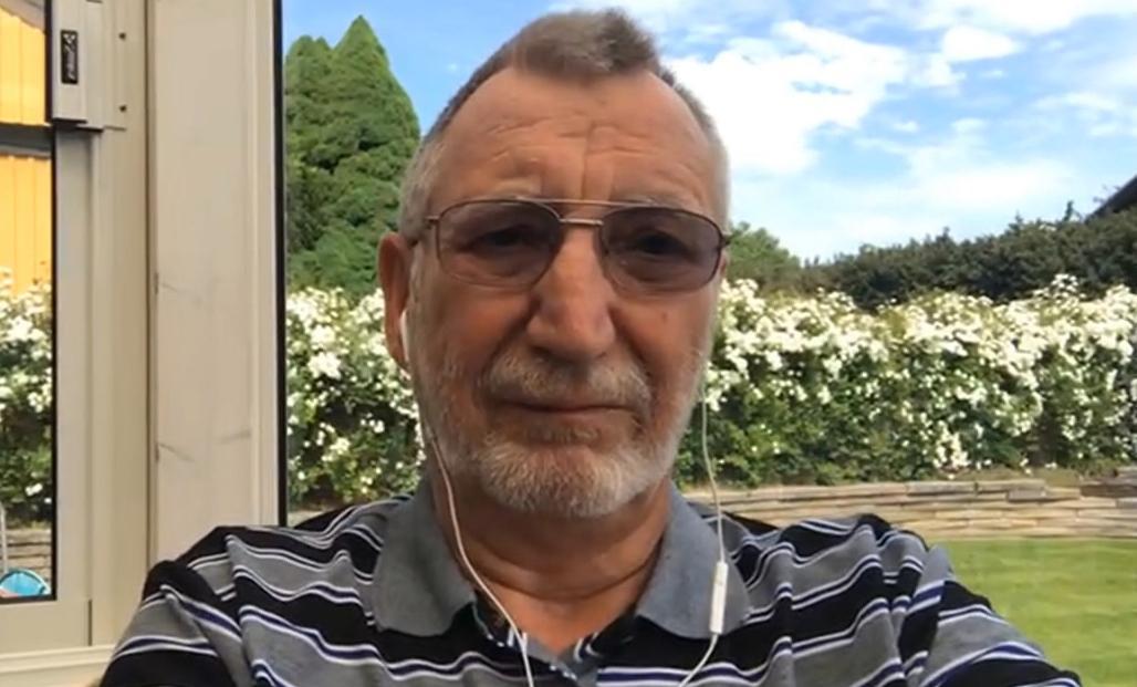 Leif Magnusson, 75, håller kursen Försök inte lura mig.