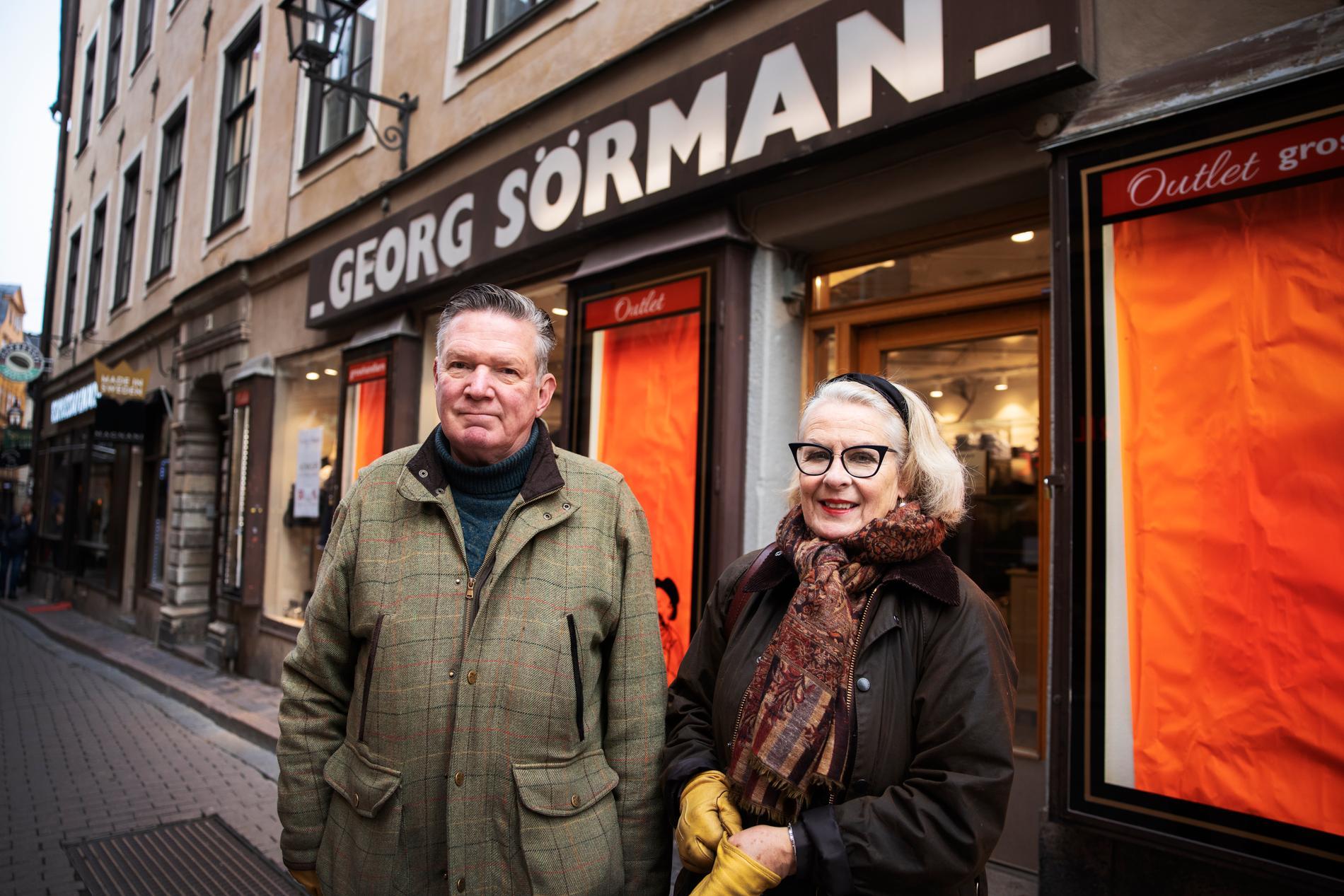 Birgitta Sörman-Nilsson och maken Lars-Olof Nilsson.
