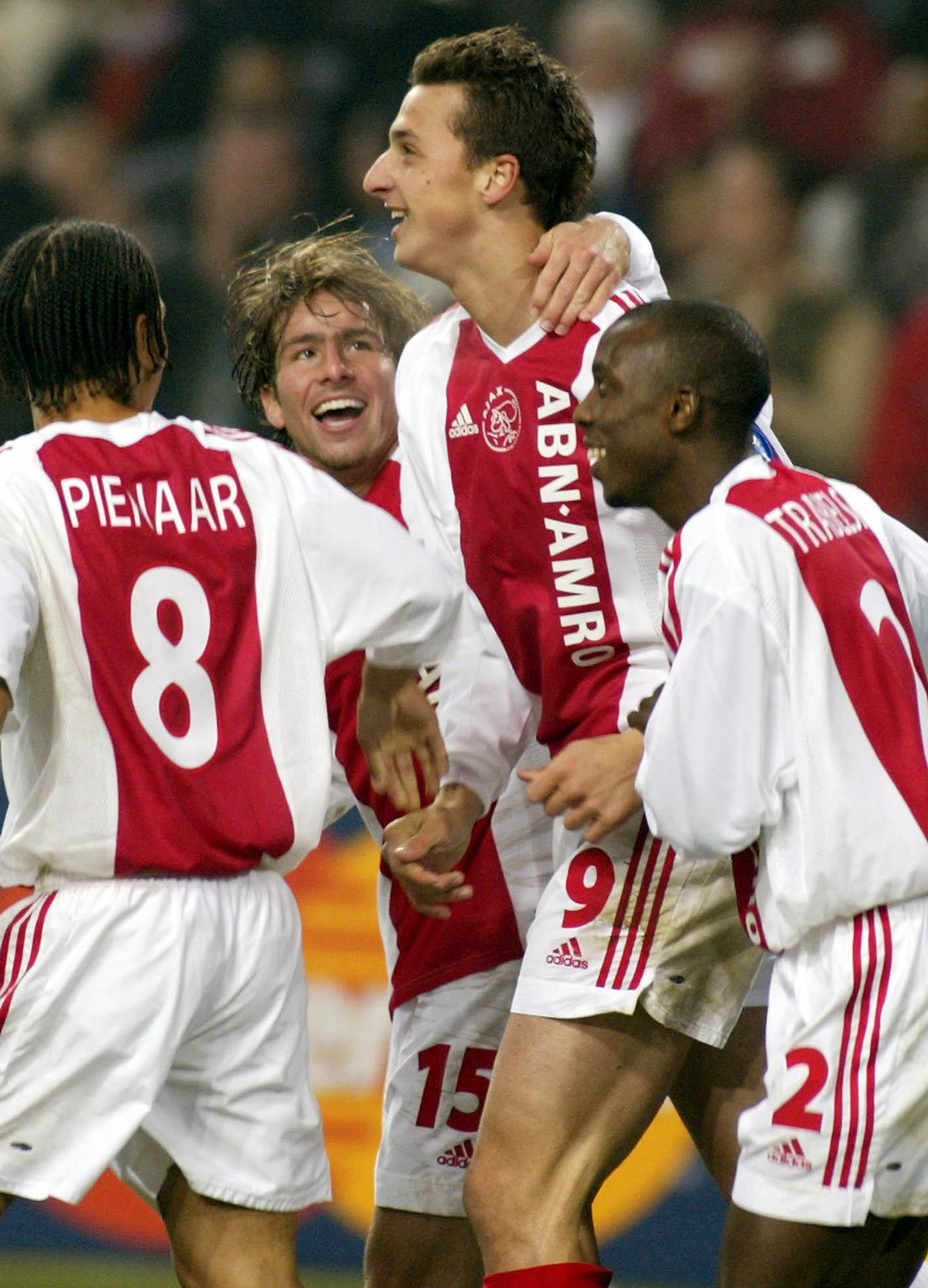 Maxwell och Zlatan i Ajax.