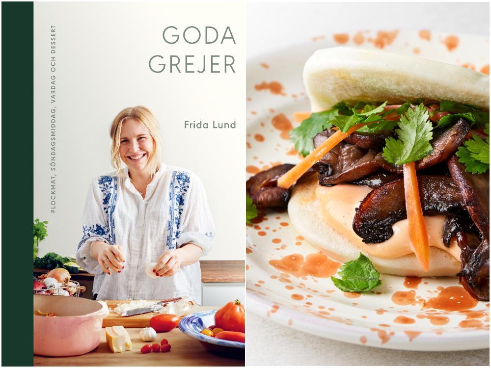 """""""Goda grejer"""" är em kokbok för dem som med enkla knep  vill lära sig hur man får maten att smaka gott."""