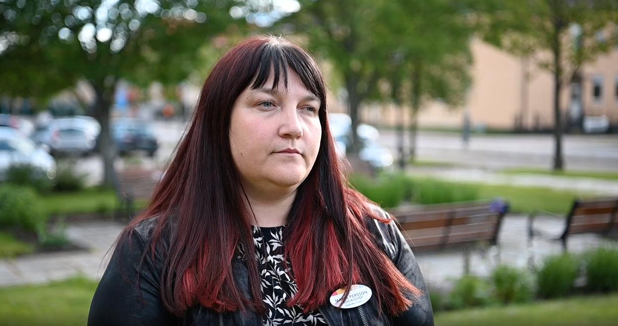 Maria Persson är socialchef i Hagfors kommun.