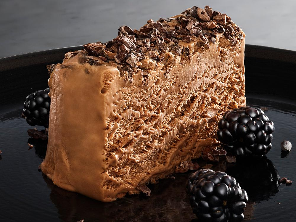 Mjölkchokladparfait med kakaonibs