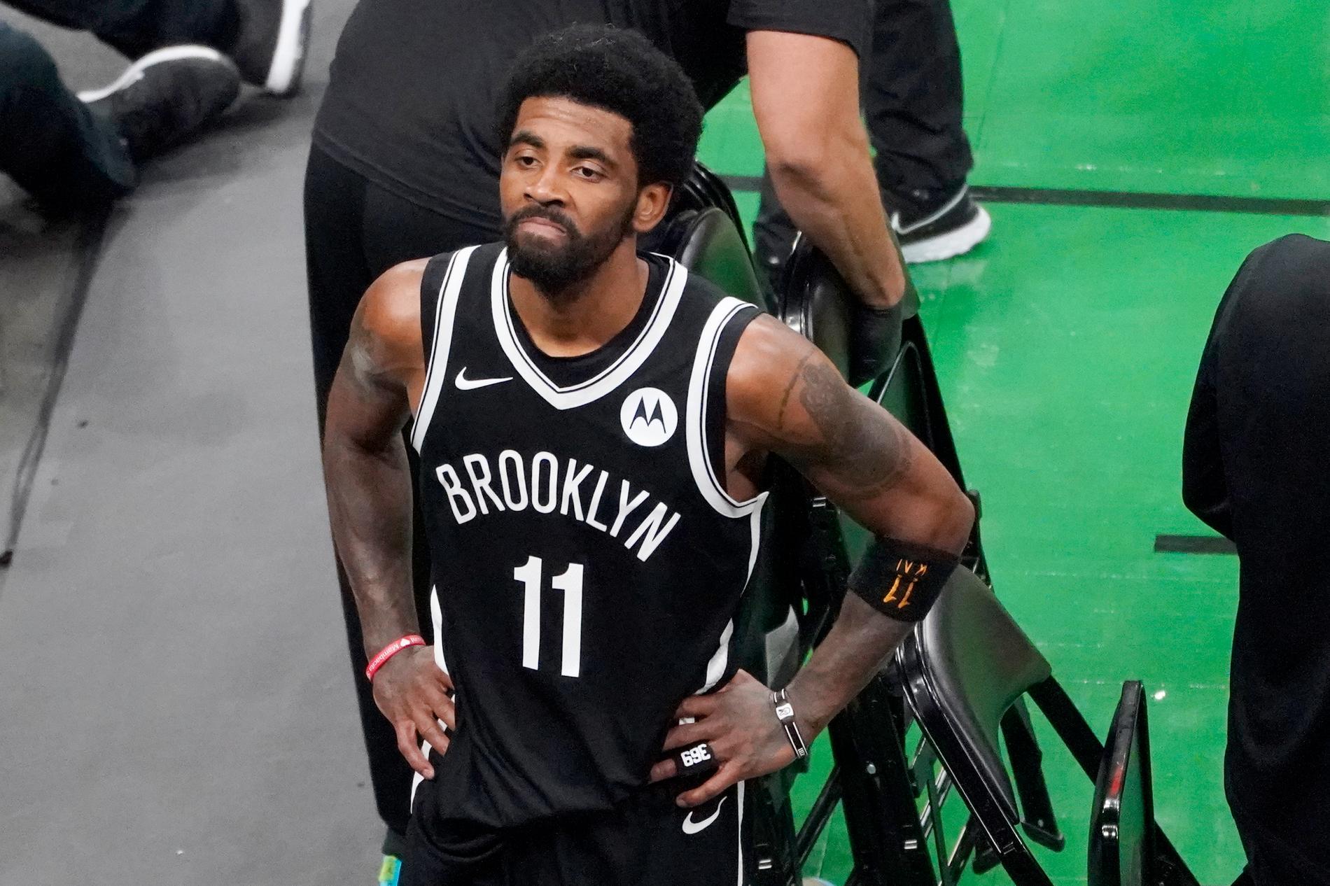 Brooklyn Nets Kyrie Irving berättar om skälet till att han inte coronavaccinerar sig.