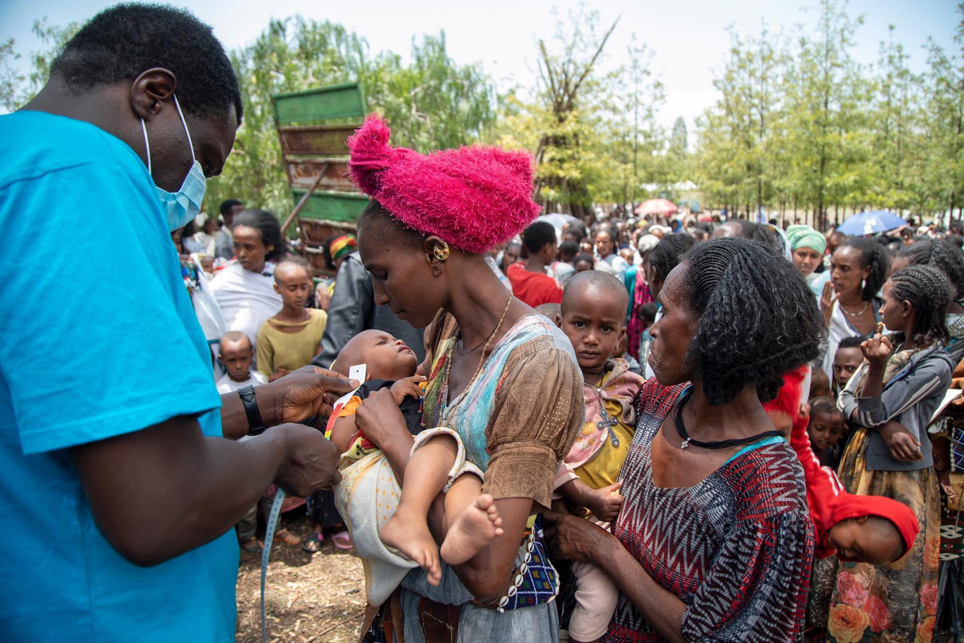 FN har länge larmat om en växande hungerkatastrof i Tigray. Flera anställda utvisas av Etiopien. Arkivbild.