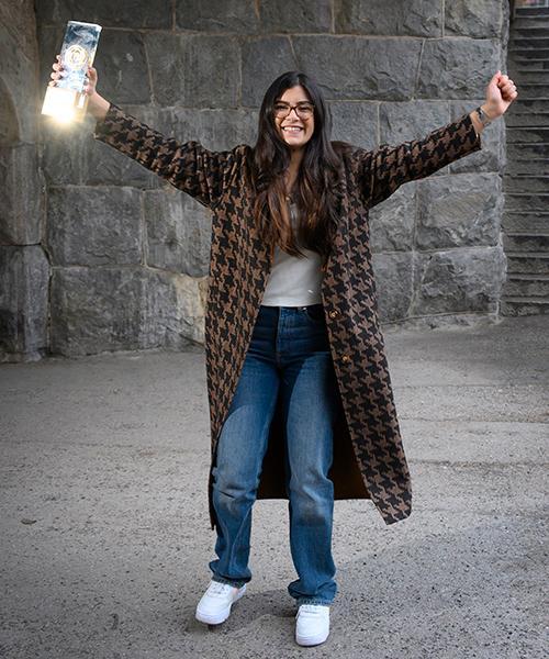 Christin Kashou vann Mästerkocks-statyetten och ett kokbokskontrakt.