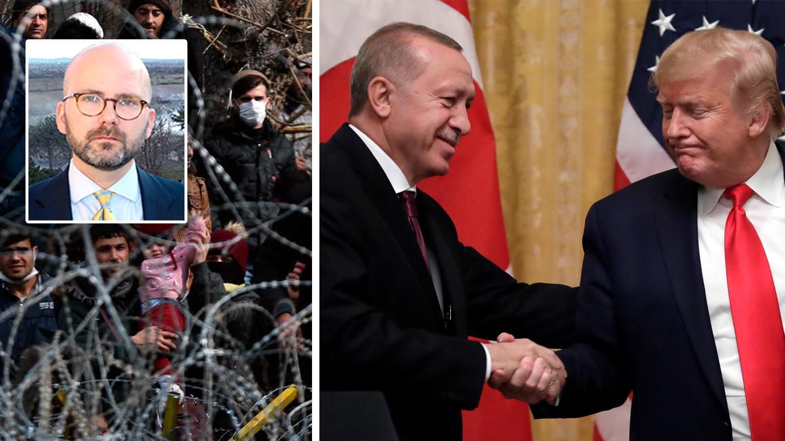 För att vinna förhandlingen med Turkiet måste EU agera tydligt och resolut. Alla utbetalningar till Turkiet måste frysas och riktade sanktioner införas. Om trycket mot gränsen ändå inte upphör bör vi som yttersta åtgärd vara beredda att införa ett tillfälligt handelsstopp, skriver Charlie Weimers, Europaparlamentariker (SD).