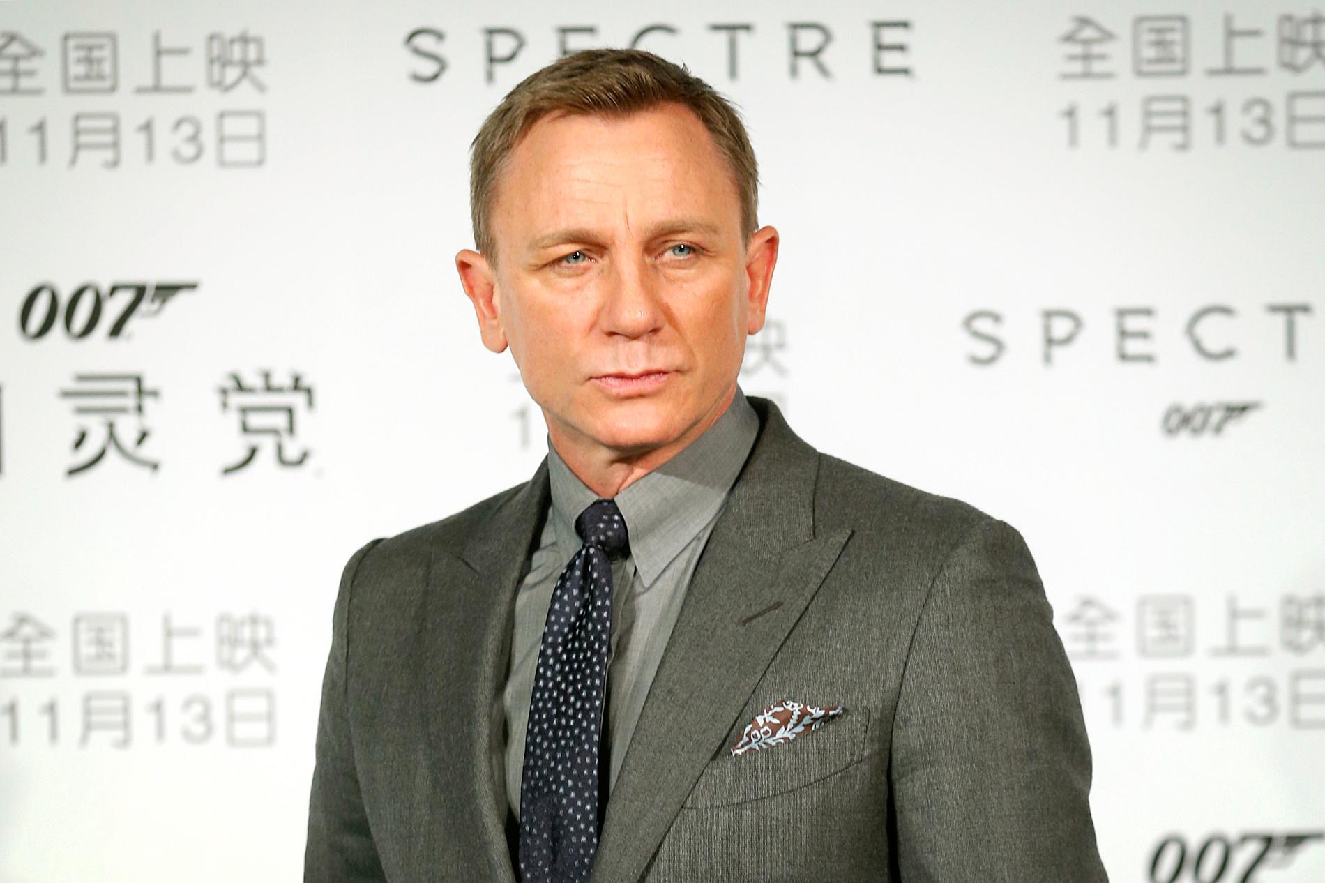 Bond-skådespelaren Daniel Craig tycker inte att en kvinna ska spela den hemliga agenten. Arkivbild.