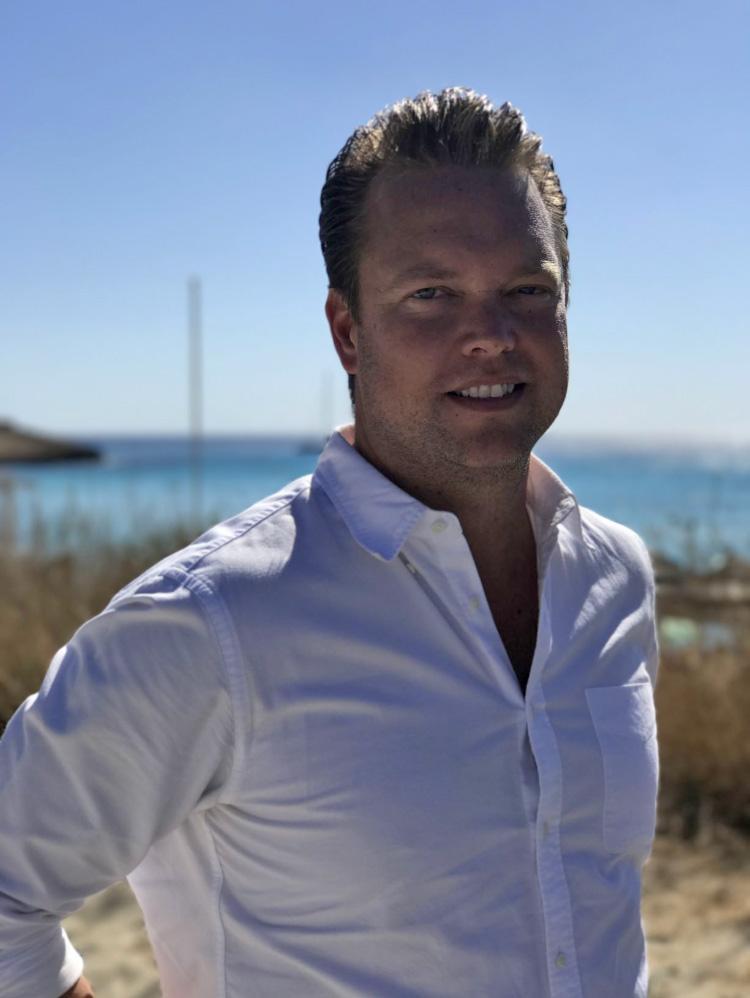 Patrick Törn, TUI:s försäljningschef Sverige