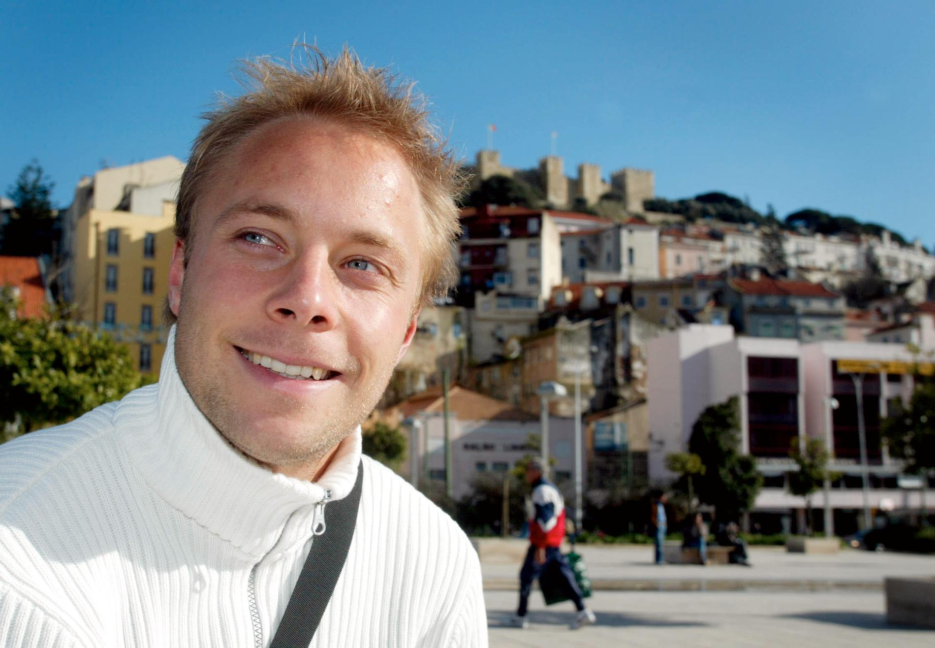 Anders Andersson i Lissabon.