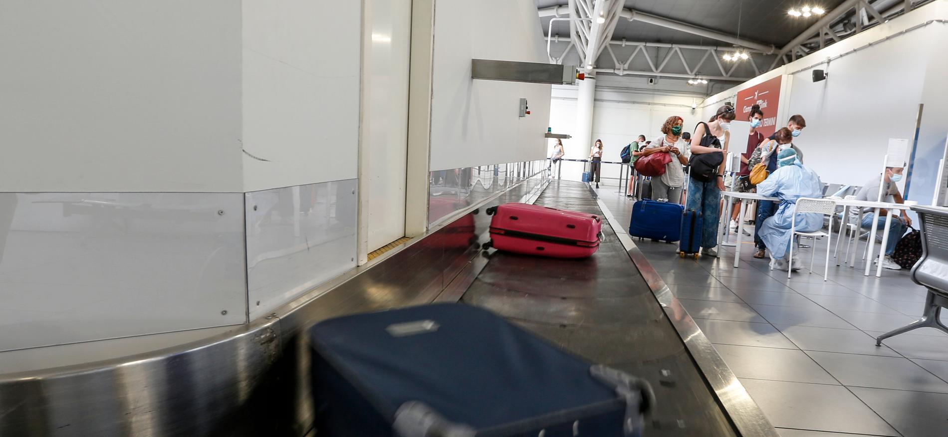 Maffiabossen Maria Licciardi uppges ha gripits på Rom-flygplatsen Ciampino. Arkivbild.