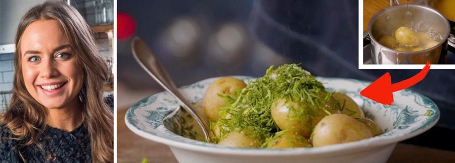 Sofia Henriksson tipsar om extra god potatis.
