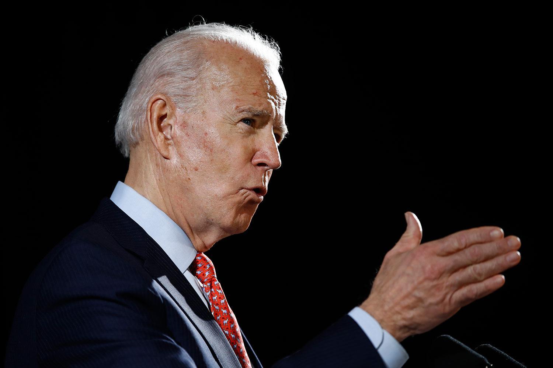 Joe Biden utmanar Donald Trump i höstens presidentval.