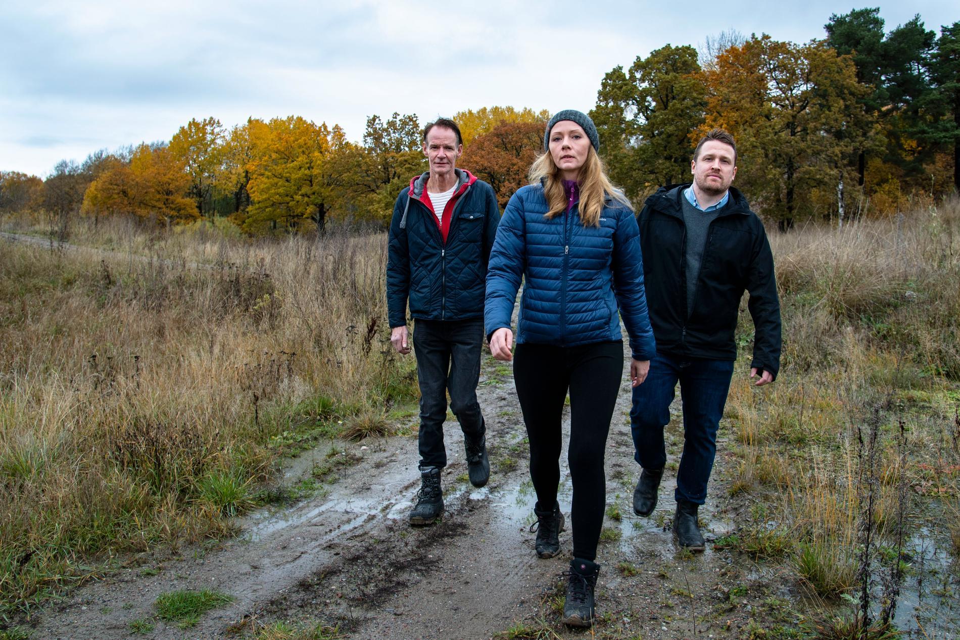 Henry Romlin, Jenny Elvelin och Mikael Norén, den sistnämnda representerar svenska motorsportförbunden SBF och Svemo.