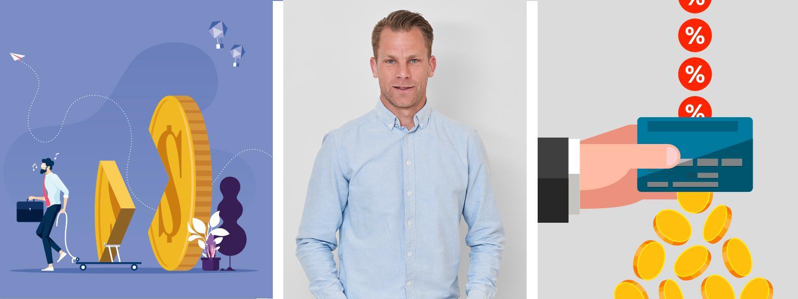 Magnus Hjelmér på Icabanken hjälper dig att styra upp ekonomin, en gång för alla.