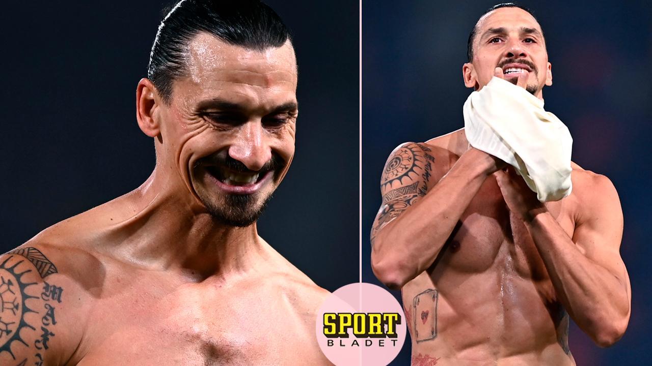Zlatan gav bort tröjan – två gånger om