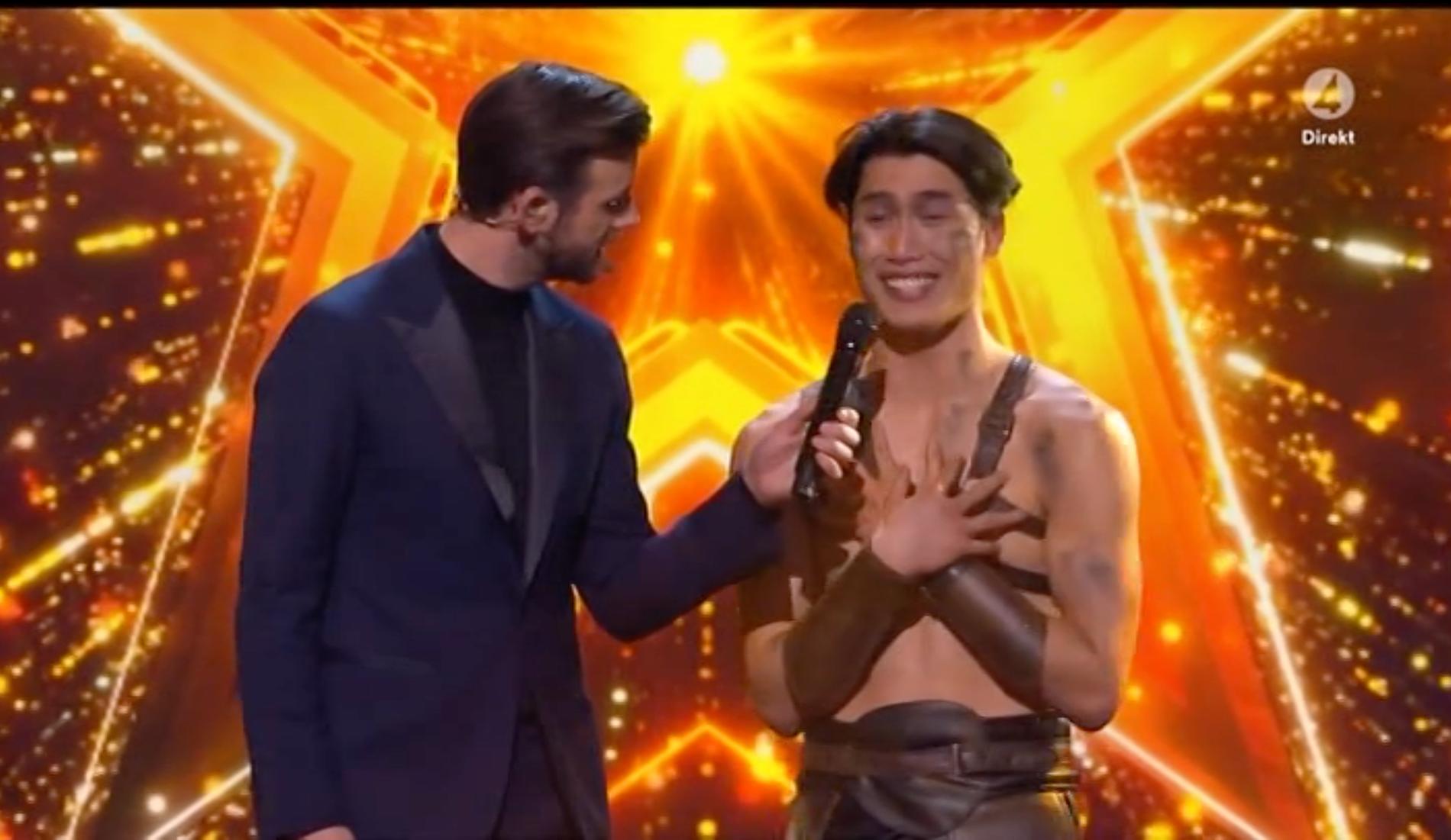 """Kevin Vo är finalist i """"Talang"""" 2021."""