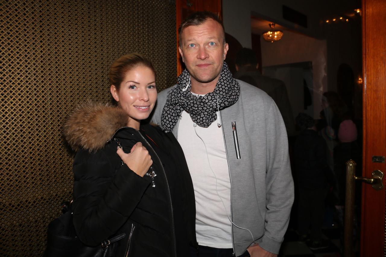 Karin Ahl och Magnus Hedman.