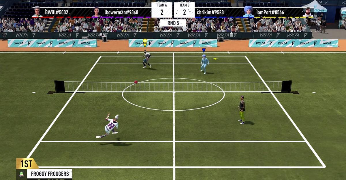 Volta Arcade i Fifa 22 ser ut att leva upp till sitt namn.